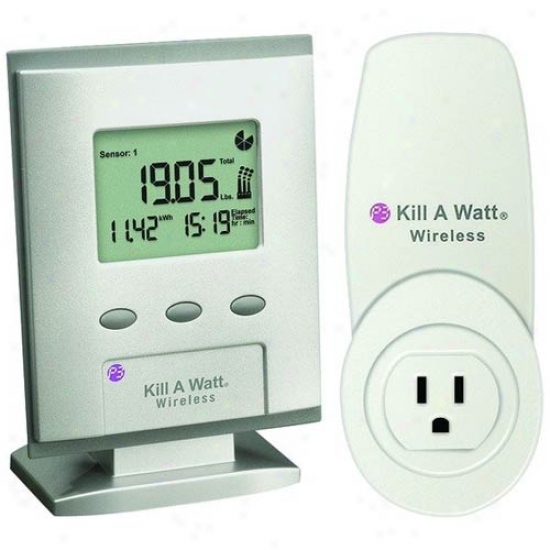 P3 International Kill A Watt Wireless Elevtricity Usage Monitor