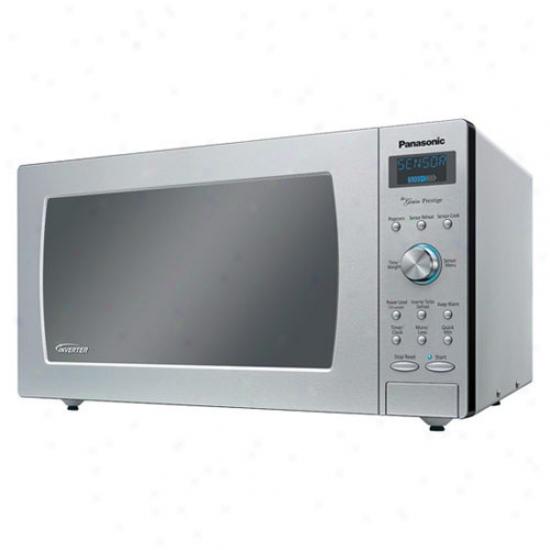 Panasonic 1.6 Cf Microwave - Stainless Steel