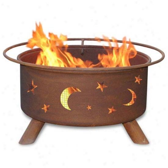 Patina 30  Evening Firmament Fire Pit
