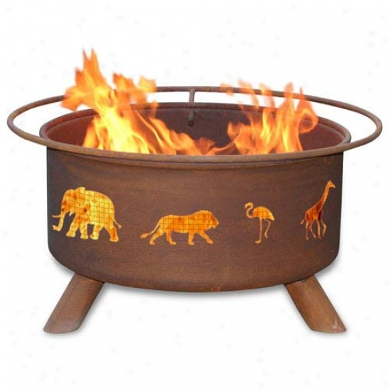 Patinaa 30  Safari Fire Pit