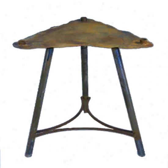 Patina Fire Pit Dipslay Stand - 24