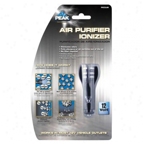 Peak 12 Volt Air Purifier Ionizer