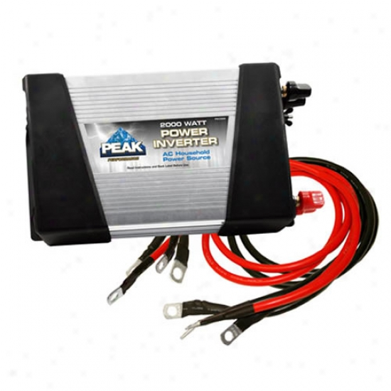 Peak 2,000 Watt Power Inverter
