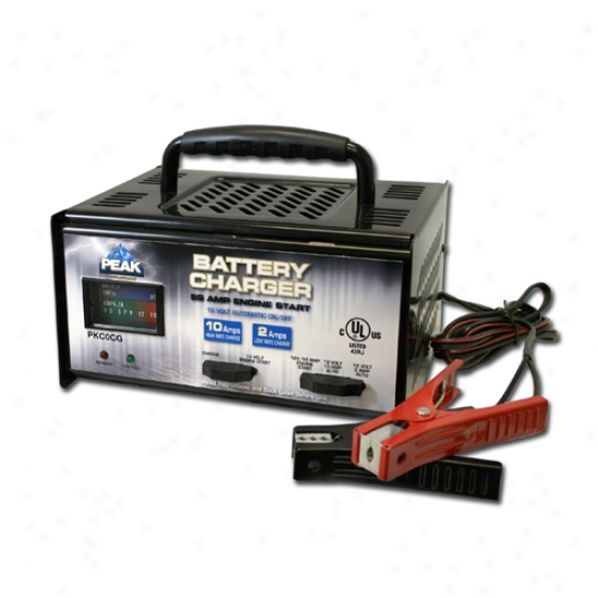 Peak 2/10/55 Amp Linear Battery Charger
