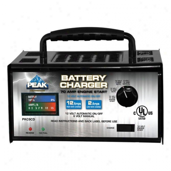 Peak 2/12/70 Amp Linear Charger With Implement Start