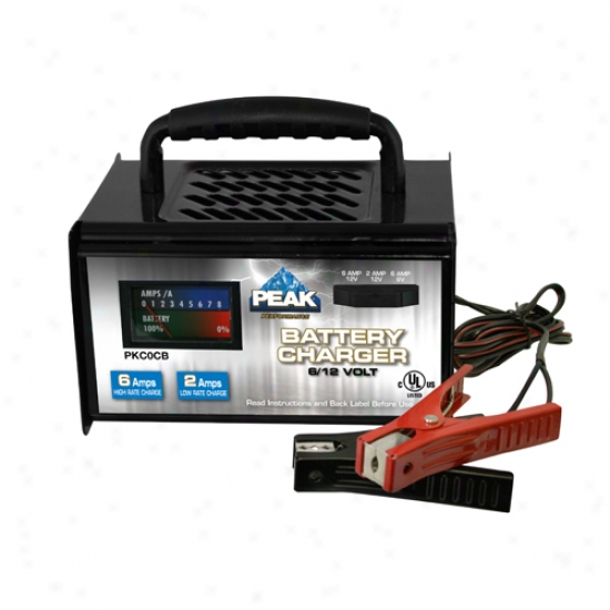 Peak 2/6 Amp Linear Battery Charger