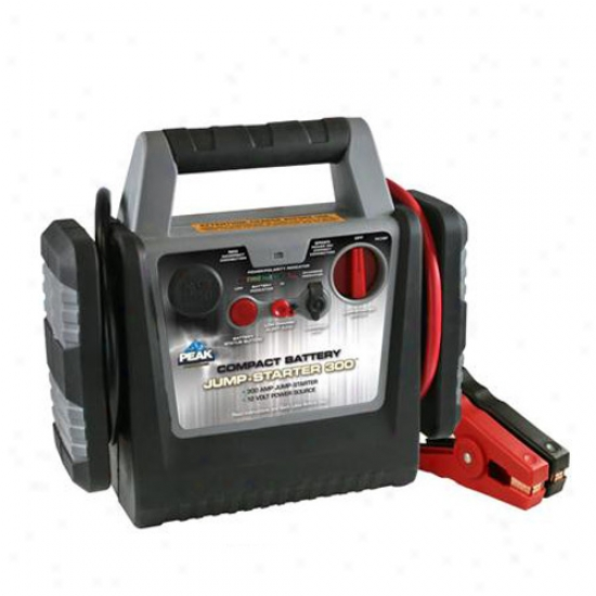 Peak 300 Amp Jump Starter And 12 Volt Power Source