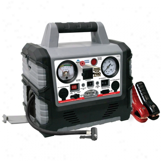 Peak 350 Amp Jump Starter Inflator/invsrter Authority Station