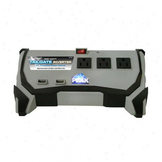 Peak 400 Watt Tailgate Inverter