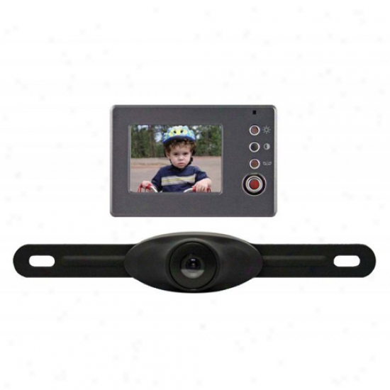 Peak Back-up Camera With 2.4  Lcd Monitor
