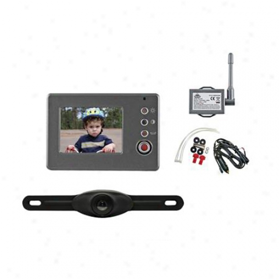 Peak Back-up Camera With 3.5  Lcd Monitor