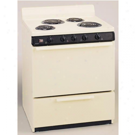 Premier 30  Electric Range - Bisque