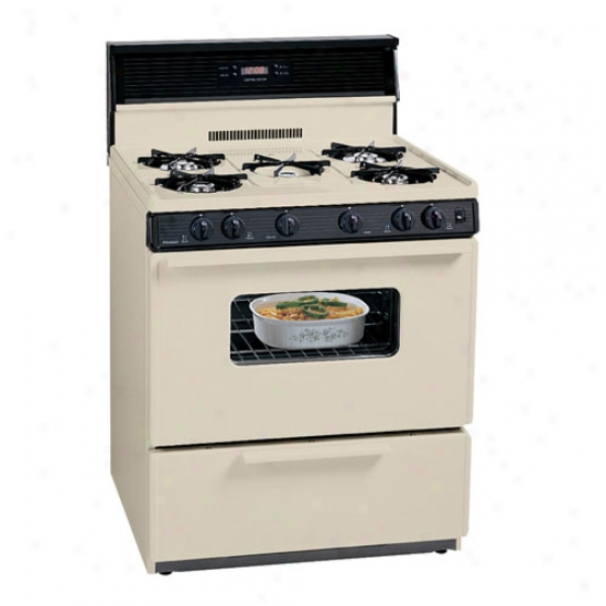 Premier 30  Electronic Ignition Gas Range - Bisque