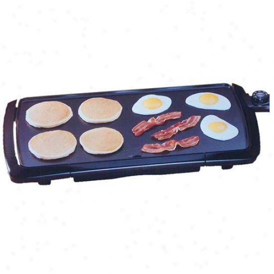 Presto Cool Touch 20-inch lEectric Griddle - Black