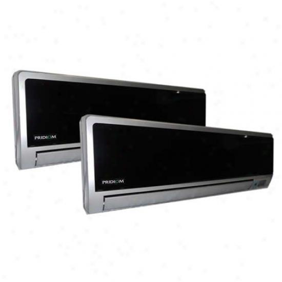 Pridiom 24,000 Btu Dual Zone Inverter Mini-split