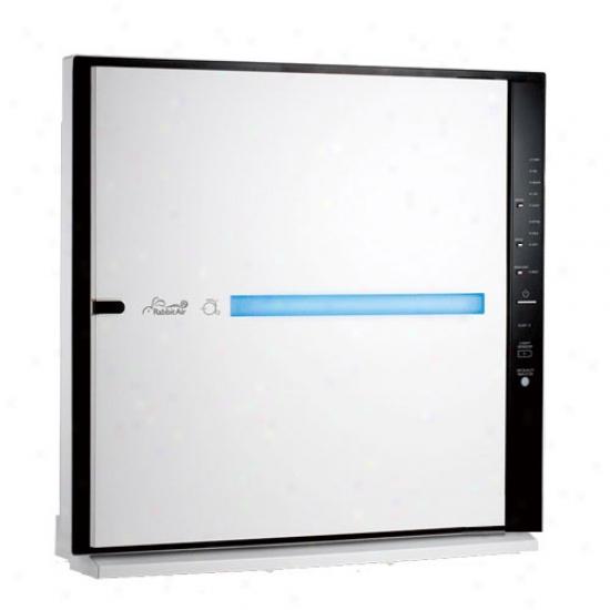Rabbitair Minusa2 Air Cleanser - White W/ Germ Filter