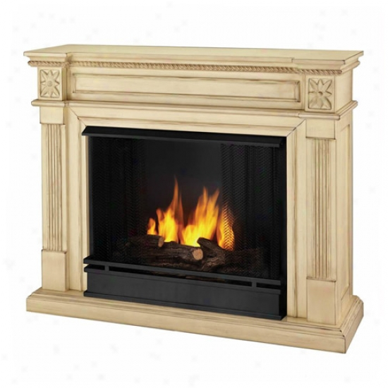 Real Flame Elise Gel Fireplace