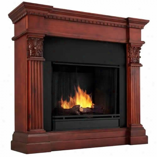 Real Flame Gabrielle Ventless Gel Fireplace