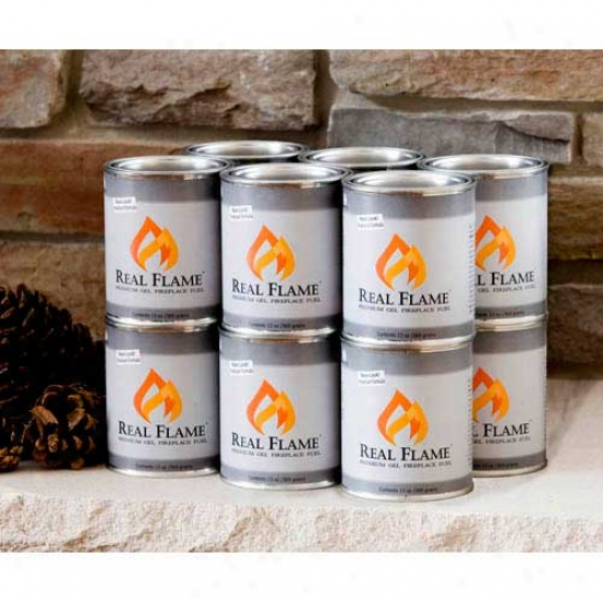 Real Flame Gel Fuel (13 Oz Cans) -12 Pk