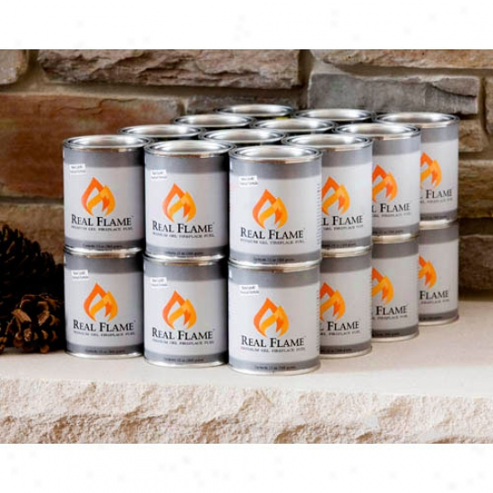 Intrinsic Flame Gel Fuel (13 Oz Cans) -24 Pk