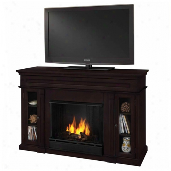 Real Flame Lannon Gel Fireplace