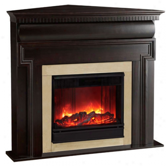 Real Flame Mt. Vernon Corner Electric Fireplace