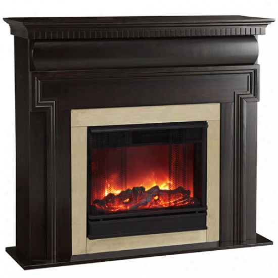 Real Flame Mt. Vernon Electric Fireplace