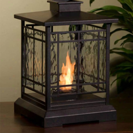 Rae Flame Prairie Personal Fireplace