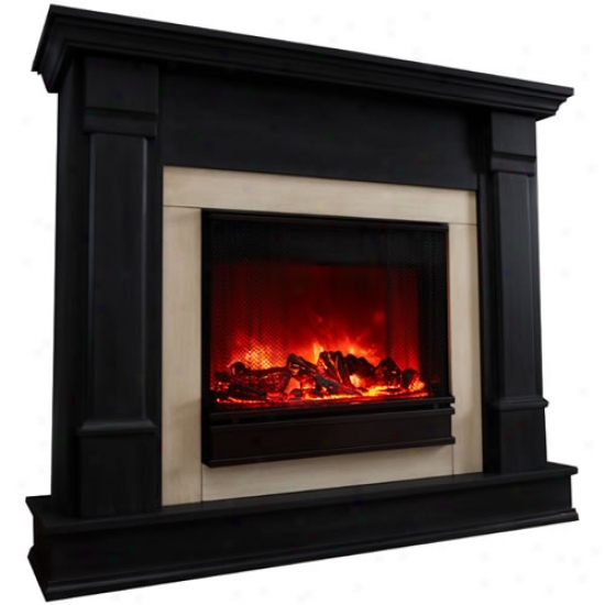 Real Glow Silverton Electric Fireplace
