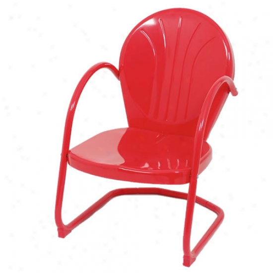 Retro Painted Hardness Tulip Chair - Reed