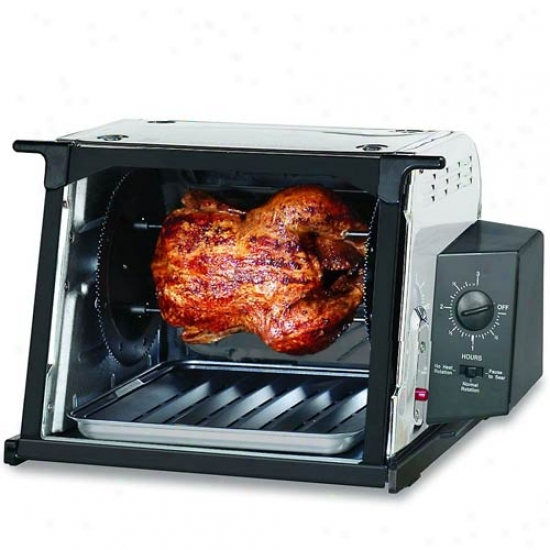 Ronco 3000 Series Stainless Steel Rotisserie