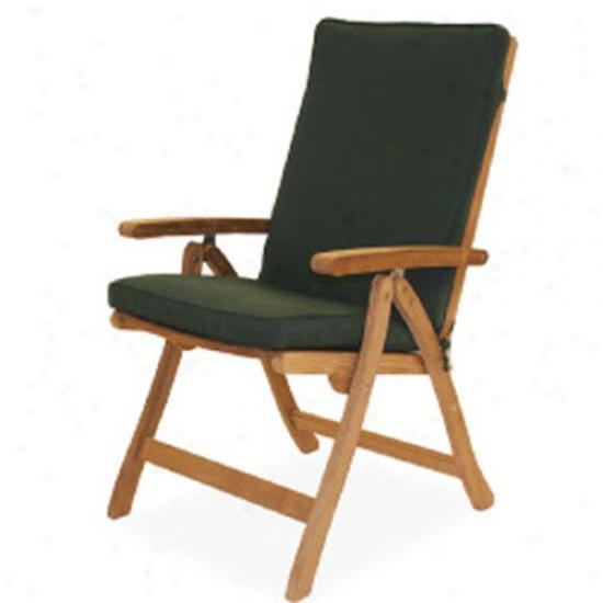 Royal Teak Collection Full Back Cushion - Hunter Unripe