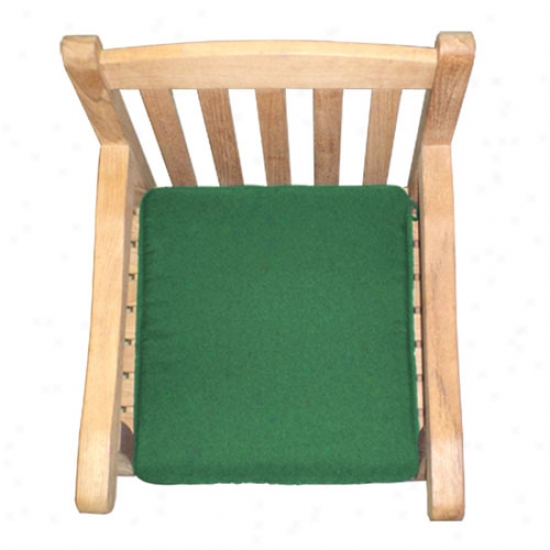 Royal Teak Collection One-seater Cushion - Hunter Green