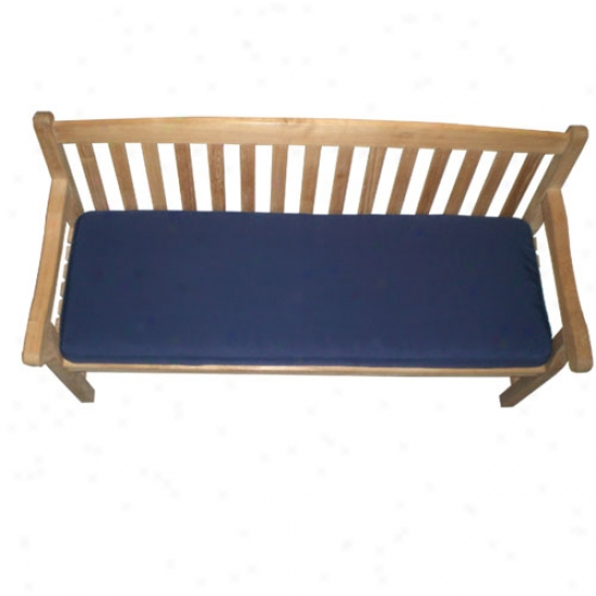 Royal Teak Collection Three-seater Cushion - Navy Blue