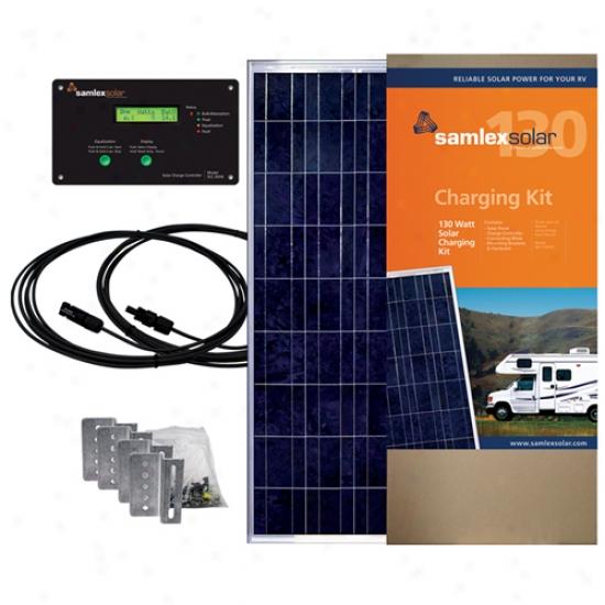 Samlex 130 Watt Solar Charging Kit