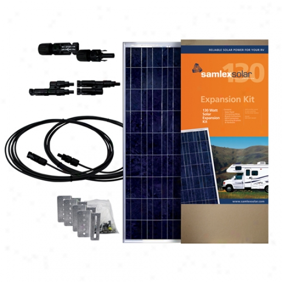 Smalex 130 Watt Solar Expansion Kit