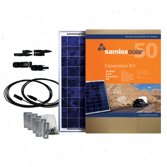 Samlex 50 Watt Solar Expansion Kit