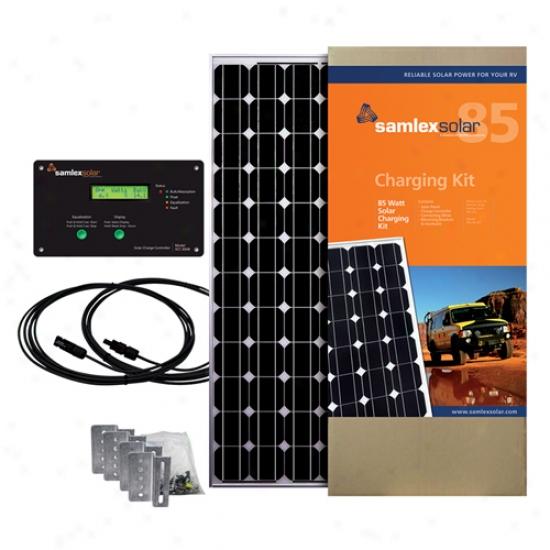 Samlex 85 Watt Solar Charging Kit