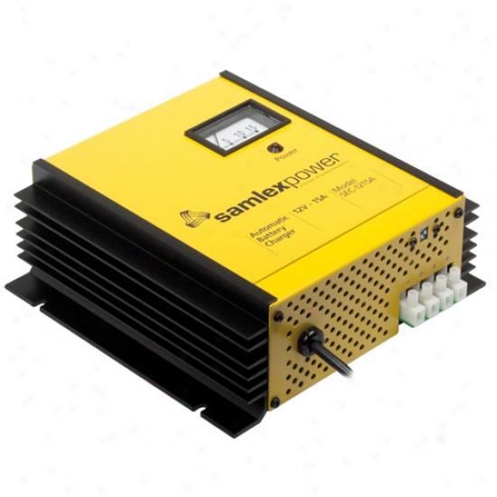 Samlex Automatic Switch Mode Battery Chargdr - 12 Volt/15 Amp