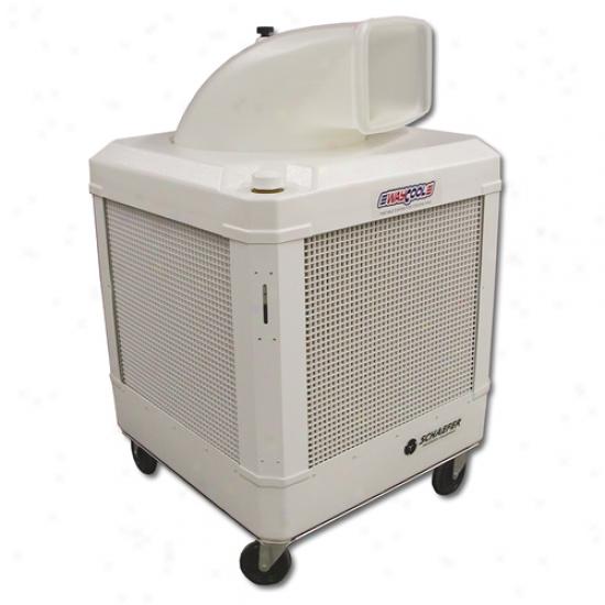Schaefer Waycool 1 Hp Portable Evaporative Oscillating Manual Fill Cooler W/ Auto Shur-off
