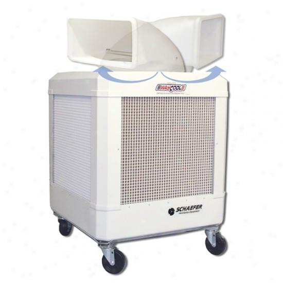 Schaefer Waycool 1/3 Hp Portable Oscillating Evaporative Cooler W/ Auto Shut-off