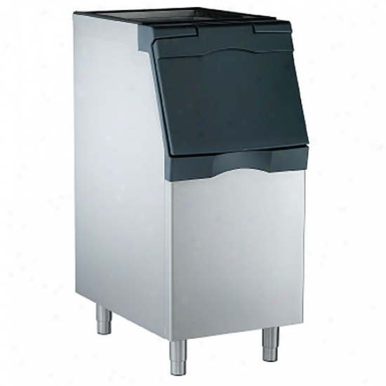 Scotsman 370 Lbs Capacity, 22  Ice Bin - Stainless Steel