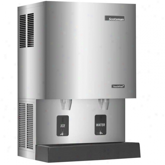 Scotsman 409 Lbs Nugget Ice Maker / Dispenser - 115v