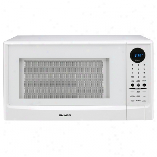 Sharp Family Size 1.4 Cubic Foot Sensor Cook Countertop Microwave