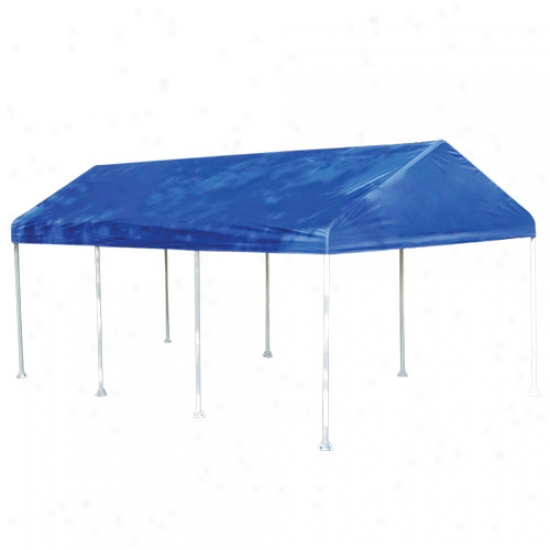 Shelterlogic 10' X 20' Blue Polyester Replacement Cover, Fits 1-3/8  Frame