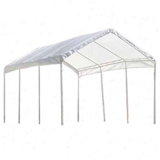 Shelterlogic 10' X 20' Canopy Reolacement Cover Fits 1-3/8  Frame - White