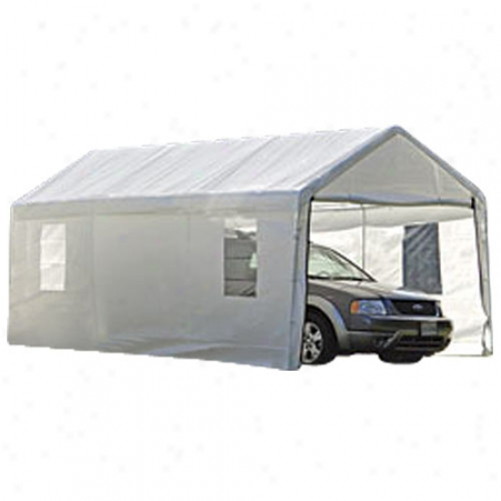 Shelterlogic 10' X 20' Clear View Enclosure Kit With Windows - White