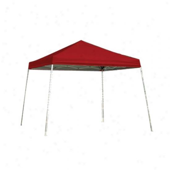 Shelterlogic 12' X 12' Slant Leg Mockery Series Popup Canopy - Red