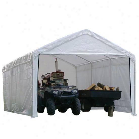 Shelterlogic 12' X 20' Enclosure Kit - White Canopy