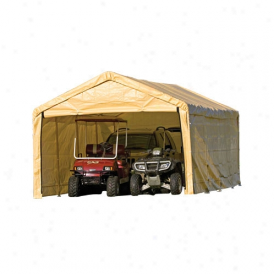 Shelterlogic 12' X 26' Canopy Enclosure Kit - Tan